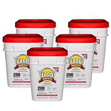 Emergency Survival Food Supply 200 Servings - 20 Year Shelf Life  sc 1 st  Amazon.com & Amazon.com : Food for Health Emergency Survival Food Supply ...
