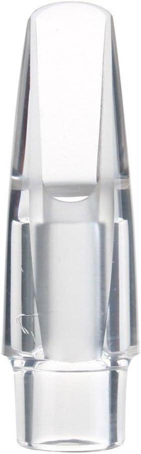 vanpower Transparent Acrylic Alto Sax Saxophone Mouthpiece for Sax Playing The Jazz Music