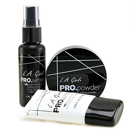 la-girl-basic-face-cosmetics-combo-3pcs-set-pro-smoothing-face-primer-pro-setting-spray-hd-pro-setti