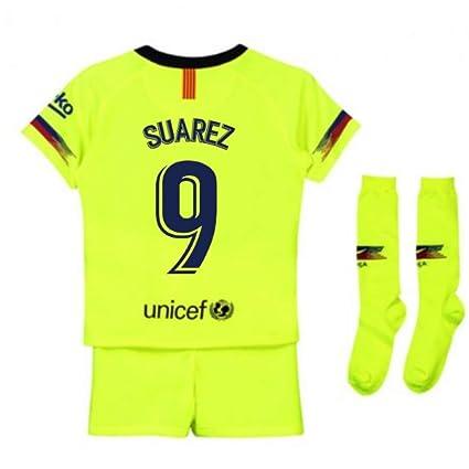 huge discount 8dff1 3b380 Amazon.com : UKSoccershop 2018-2019 Barcelona Away Nike ...