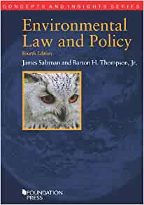 Advanced Foundations of Environmental Law (LAWS0215)