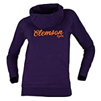 Bruzer NCAA Clemson Tigers Womens Cozy Cowlcozy Cowl, Purple Mix, Large