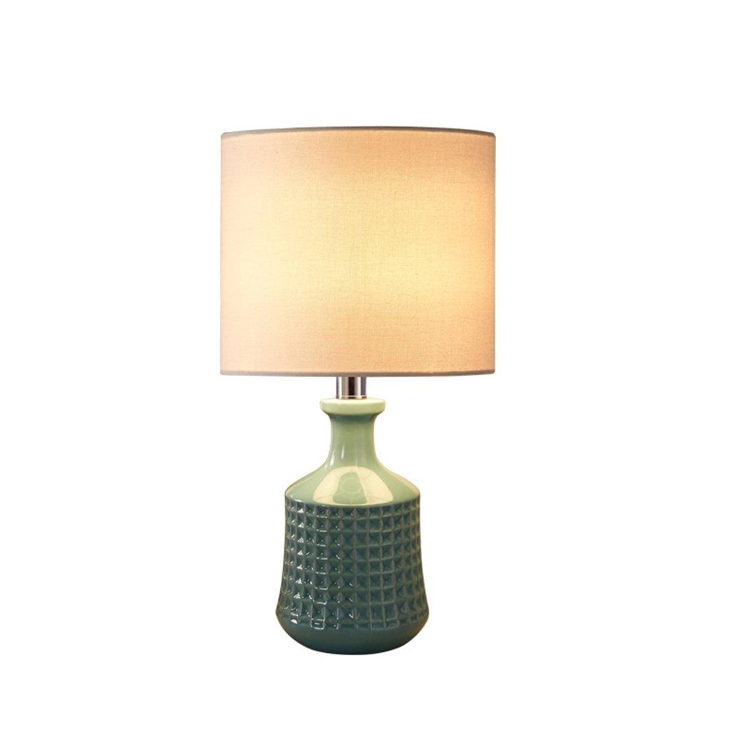 JIAHONG Retro, zum der alten keramischen keramischen keramischen antiken Lampe und des flachs hellen Farbtons zu tun, moderne Wohnzimmerleselampe (Farbe   B) B0788M1P98   Verwendet in der Haltbarkeit  a69896