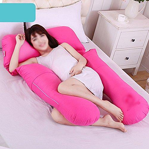 Multifunctional pregnant women pillow / waist Waiting to sleep pillow / U-shaped side sleeper / sleeping pillow / pregnant women supplies ( Color : A ) by Pregnant women pillow