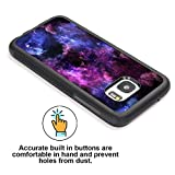 Galaxy S7 Case Personalized Design Samsung Galaxy S7 TPU Black Cell Phone Case Abstract purple sky