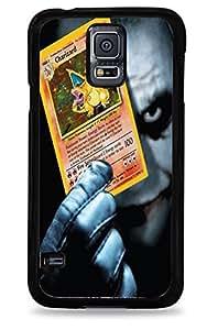 629 Joker Holding Charizard Samsung Galaxy S5 Silicone Case - Black