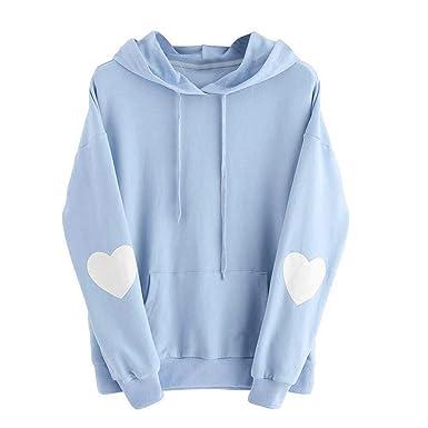 Neue Sweatshirt Hochwertige Mit Art Damen Mrulic Pullover Kapuze 5UqRcw7
