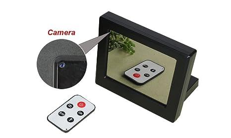Mengshen 1280x720 Reloj de Espejo de HD Cámara de vídeo espía Cámara de DVR Oculta con
