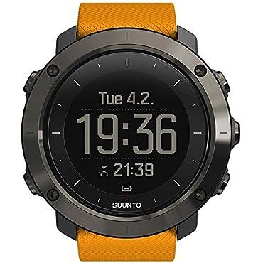 Suunto Traverse Amber GPS Outdoor Watch (SS021844000)