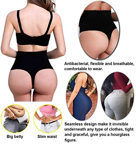 4591faf760248 Jenbou Waist Cincher Girdle Tummy Control Panties Trainer Sexy Thong Body  Shaper Slimming Shapewear for Women