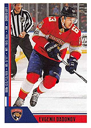 best cheap 20cfe 4b63e Amazon.com: 2018-19 Panini NHL Stickers Hockey #104 Evgenii ...