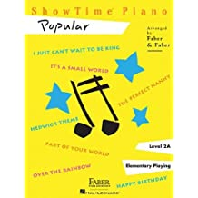 ShowTime Popular: Level 2A: Written by Nancy Faber, 2002 Edition, Publisher: Faber Piano Adventures [Paperback]