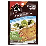 Club House Gravy Mix for Chicken 25-percent Less Salt 2, 18-count