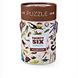 Crocodile Creek Thirty-Six Insects 100Piece Jigsaw Puzzle In Canister Puzzle