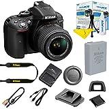 Nikon D5300 DSLR Camera with AF-P DX NIKKOR 18-55mm f/3.5-5.6G VR Lens (Black) + I3ePro Digital Camera Starter Kit