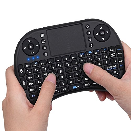 Mini Wireless Keyboard 2.4G with Touchpad for