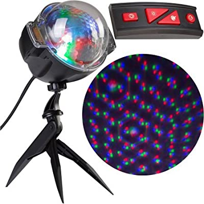 AS SEEN ON TV! Points Of Light - Light show Projection, Deluxe with Remote, 98 Programs, for HALLOWEEN and CHRISTMAS!