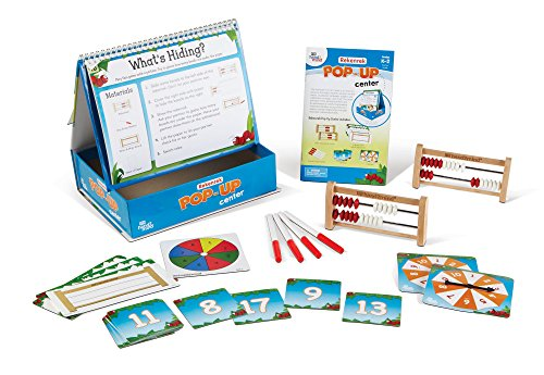 Math Activities With Rekenreks (Ages 5+) - 10 Critical Thinking Math Games | For Home or Classroom Center | Educational Product to Learn Counting, Addition, and Subtraction