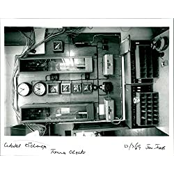 Vintage photo of Citadel Exchange Time clocks