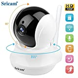Product review for monitor camera Sricam SP020 IP Wireless camera ,720P HD Two-way Audio Night Vision with Camera, for Pet Baby Monitor,Home Security Camera Motion Detection Indoor Camera with Micro SD Card Slot