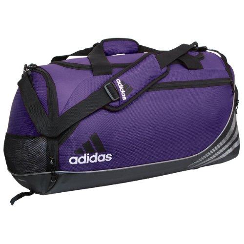 adidas Team Speed Medium Duffel, Collegiate Purple/Black