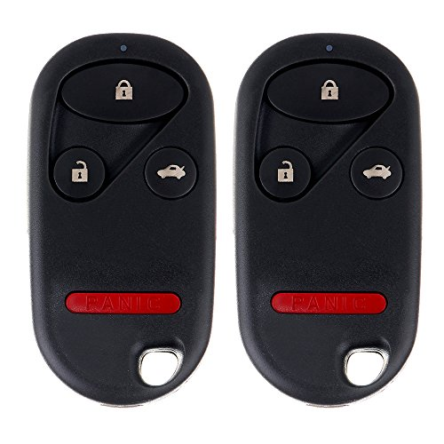 ECCPP Replacement fit for Keyless Entry Remote Key Fob 02-2004 Honda CR-V OUCG8D-344H-A (Pack of 2)