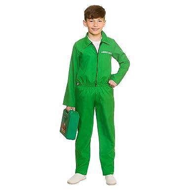 Amazon.com: Paramédico Unisex disfraz infantil verde ...