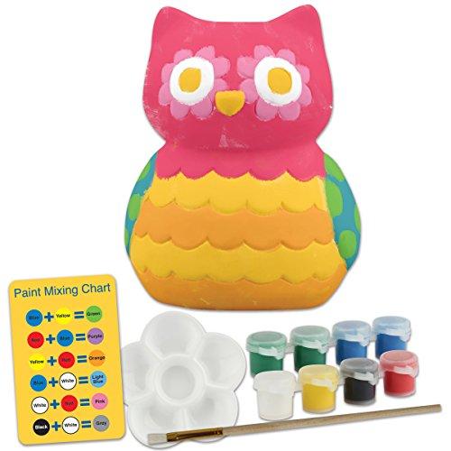 Stephen Joseph Paint Your Own Bank, Owl (Bank Owl)
