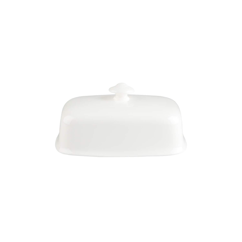 Porcellana Premium Bone Villeroy /& Boch Royal Coperchio per Burriera Bianco