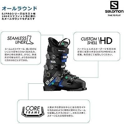 L40912700 Homme SALOMON S//Pro X90 CS Bottes de Ski pour Homme