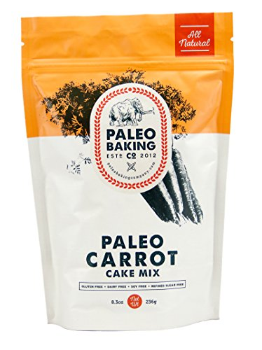 Paleo Baking Company Paleo Carrot Cake - Barbecue Ingredients List