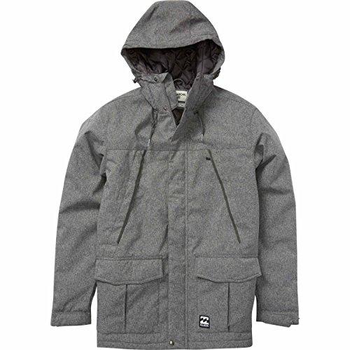 Billabong Men's Alves Jacket, Black Heather, L by Billabong