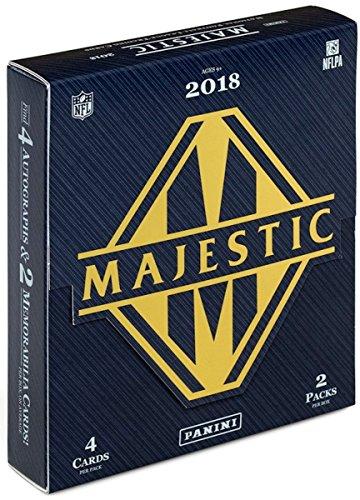 2018 Panini Majestic Football Hobby Box! 4 Autos and 2 Mem per Box! from 2018 Panini Majestic
