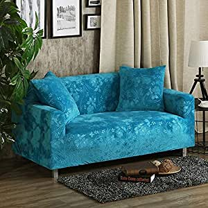 Amazon.com: SANDM Funda de sofá elástica antideslizante con ...
