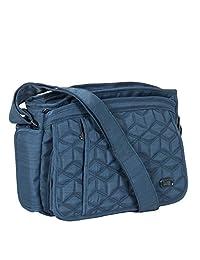 Lug WINGS (Model: WINGS CROSS BODY BAG, BRUSHED BLUE), Brushed Blue, One Size