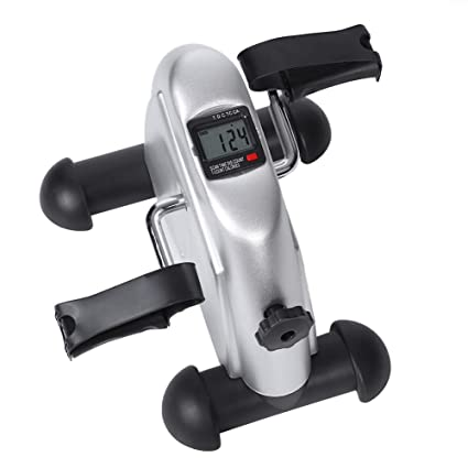 Cocoarm Minibike Heimtrainer Pedaltrainer f/ür Beintrainer Fahrradtrainer Fitness-Fahrrad Trainingsge