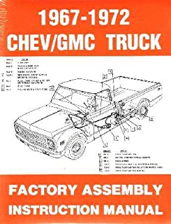 amazon com 1967 1972 chevy c k 10 30 light truck assembly manual rh amazon com Chevrolet C30 Crew Cab Chevrolet C30 Dually