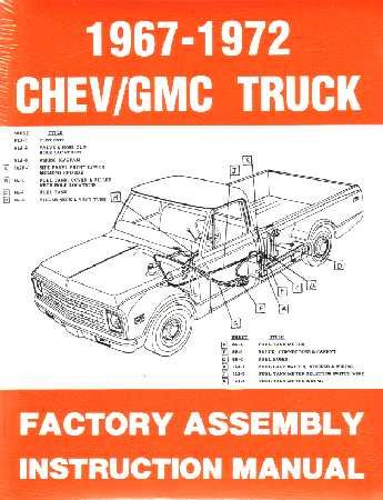 10-30 LIGHT TRUCK Assembly Manual (1972 Chevy)