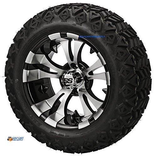 /Black Aluminum Wheels and 23x10-14