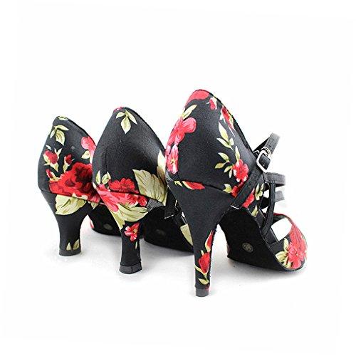 misu - Zapatillas de danza para mujer multicolor multicolor