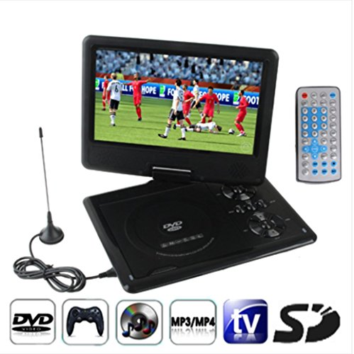 NS-958 9.5 INCH TFT LCD Screen Digital Multimedia Portable DVD with Card Reader & USB Port, Support TV (PAL / NTSC / SECAM) & Game Function, ()