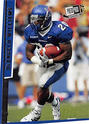f3ea53132 DeAngelo Williams football card (Memphis Tigers) 2006 Press Pass SE ...