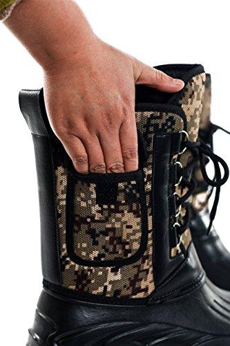 Deserto Stivali Stringata AgeeMi Shoes Lavoro da Uomo Alta Camo Scarpa qxTpZA8