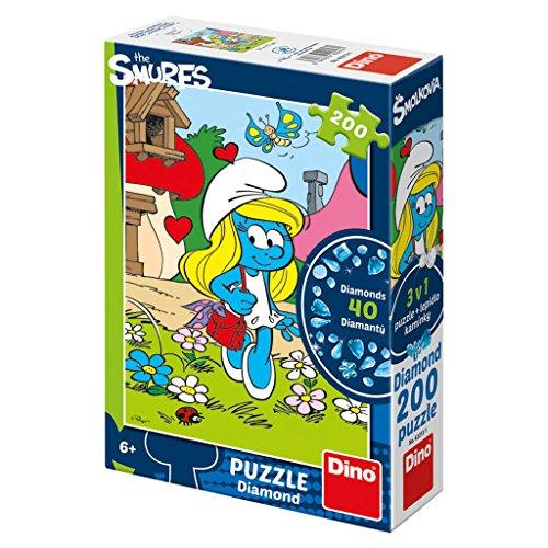 Dino Toys 422131 Puzzle de haute qualité - Schtroumpfs Motif - 200 pièces