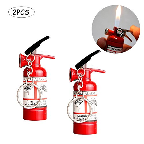 Fire Extinguisher Lighter With Led Light