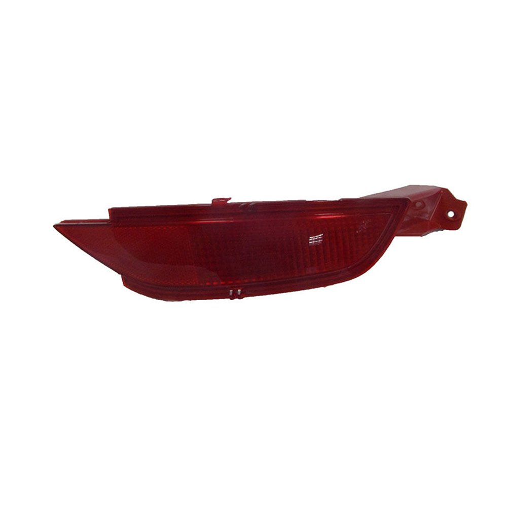 Ricoy Rear Bumper Reflector Cover For Fiesta Mk7 Hatchback 2009-2014 Right//Without Fog Lamp Bulb