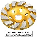 "SUNJOYCO 4"" Diamond Cup Grinding"
