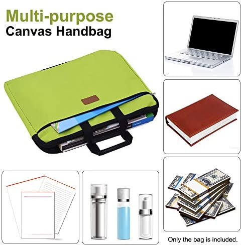 Document Bag Handbag Holder Large Capacity For A4 Paper Office School Student YU