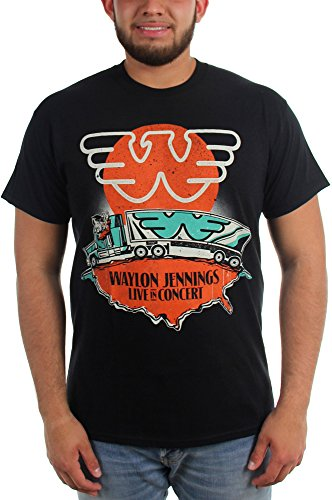 Waylon Jennings- Live in Concert T-Shirt Size XL