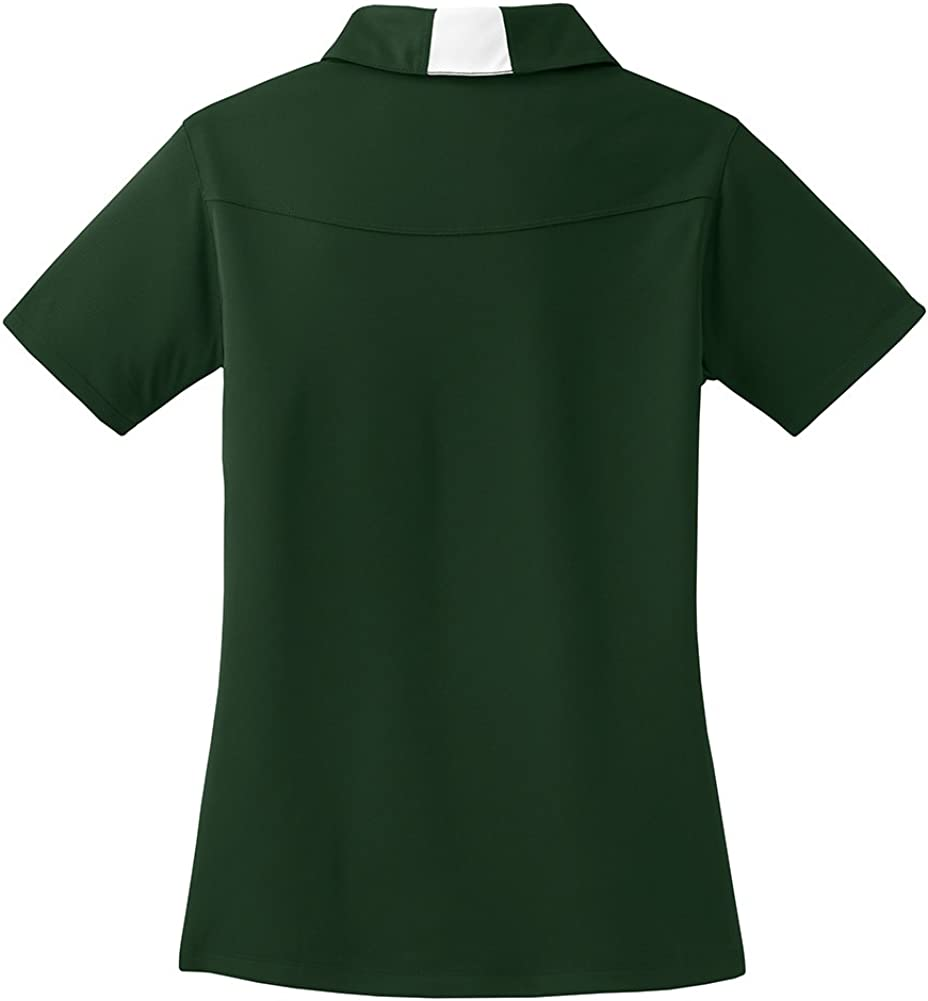 DRIEQUIP Ladies Moisture Wicking Micropique Side Blocked Polo in Sizes XS-4XL